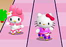 Hello Kitty Roller Race