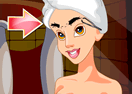 Princess Jasmine Facial Makeover