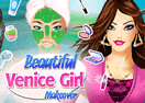 Beautiful Venice Girl Makeover
