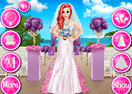 Mermaid Princess Wedding Day