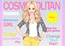 Magazine Cover Girl Dress Up