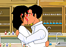 Chemistry Lab Kissing