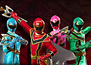 Power Rangers Mystic Force Training