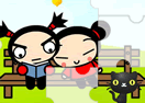 Pucca - Funny Love Puzzle Set