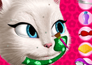 Talking Angela Facial