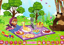 Masha and the Bear Picnic Fun