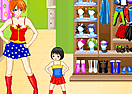 Super Mom and Kid Dressup