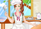 Fashionable Cooking Girl