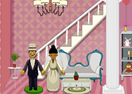 Wedding Couple Doll House Decor