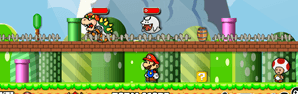 Mario Toad Defense