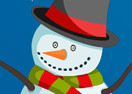 Snowman Christmas Cleaning