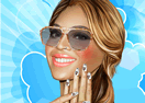 Beyoncé Nails Makeover