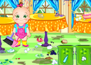 Baby Rosy Room Cleaning