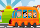Five Differences with School Bus