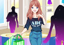 Cute Shopping Girl