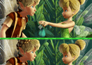 Tinker Bell Spot 8 Difference