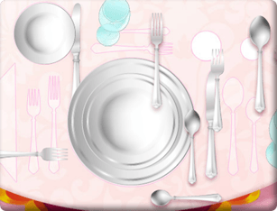 Barbie – Preparar a Mesa do Jantar da Princesa