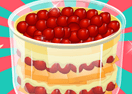 Cherry Pie Triffle