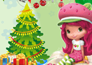 Strawberry Shortcake Christmas Room Decor
