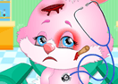 Cute Bunny Face Injury