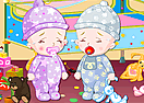 Baby Twins - Dress Up Scene Decoration