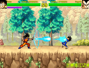 Jogo  Dragon Ball VS Naruto CR: Vegeta